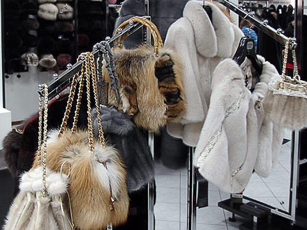 Шубный рынок в Пятигорске